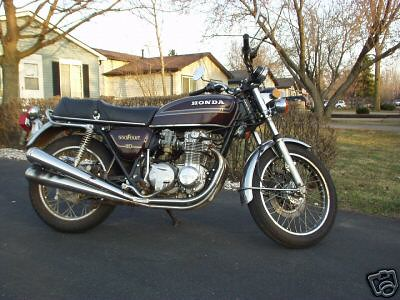 1978 Honda 550 4-cylinder | A bike for sale on ebay which is… | Flickr