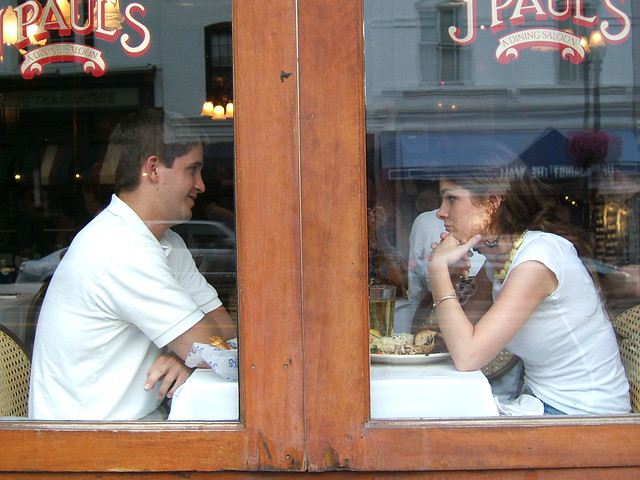 A Couple at J Pauls