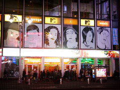 MTV Times Square   by wooohooo
