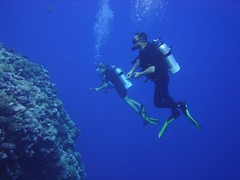 Abby and me, North Horn, Coral Sea, Great Barrier Reef, Australia.jpg | by gruntzooki