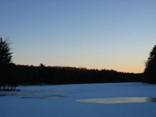 sunset 2 ice ims gastonpond
