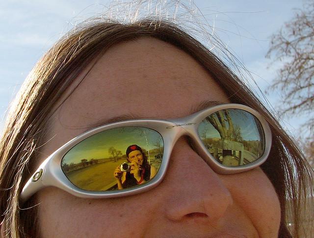 Corinna, me and the James Dean Memorial: Cholame CA