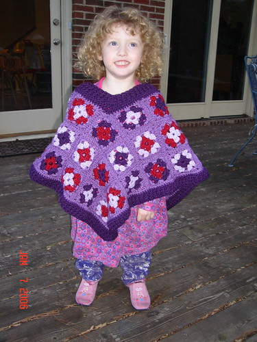 Granny Square Poncho | by river2sea72