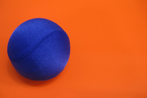Stress ball orange | by l&coolj
