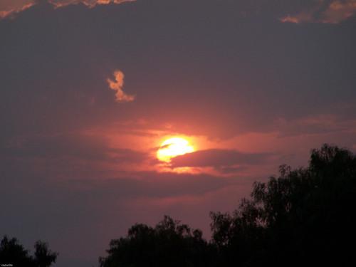 sunset sky méxico mexico atardecer cielo
