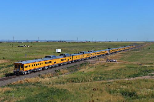 up train colorado denver co unionpacific wyoming wy cfd 951 passengertrain 949 e9a cheyennefrontierdays e9b greeleysub 963b