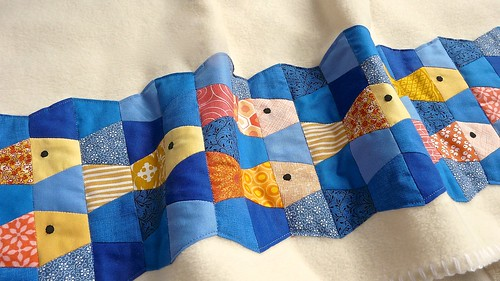 Tumbler Fish: a Free EPP Pattern | by CraftyPod