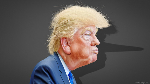 Donald Trump- Caricature | by DonkeyHotey