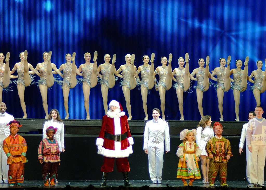 Rockettes Christmas Show.Radio City Christmas Show Rockettes 4 Bob Jagendorf Flickr
