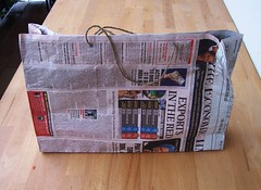 the best free paper bag ever | by buechertiger
