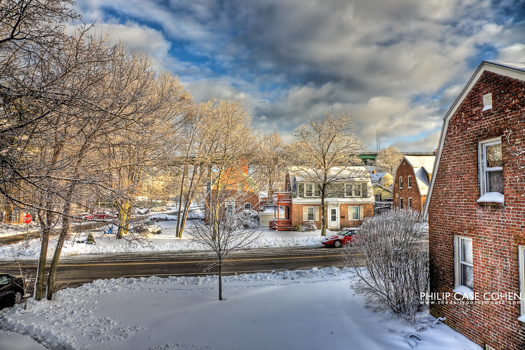 After the Storm in Atlantic Heights by Philip Case Cohen