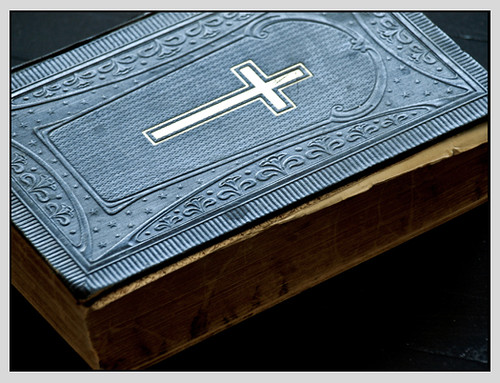holy book at unholy place