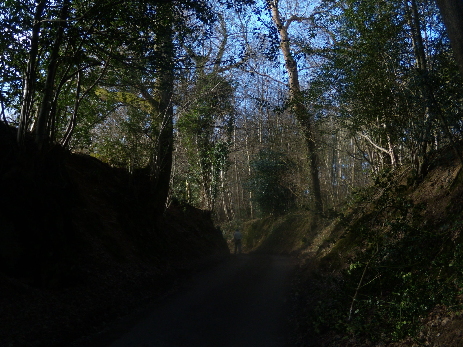 Up the holloway Balcombe round (winter)