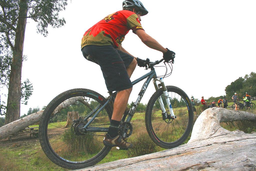 Rohloff hub mountain bike
