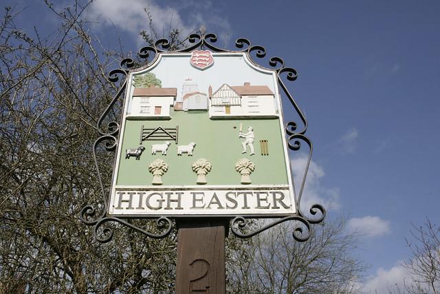 village sign, essex