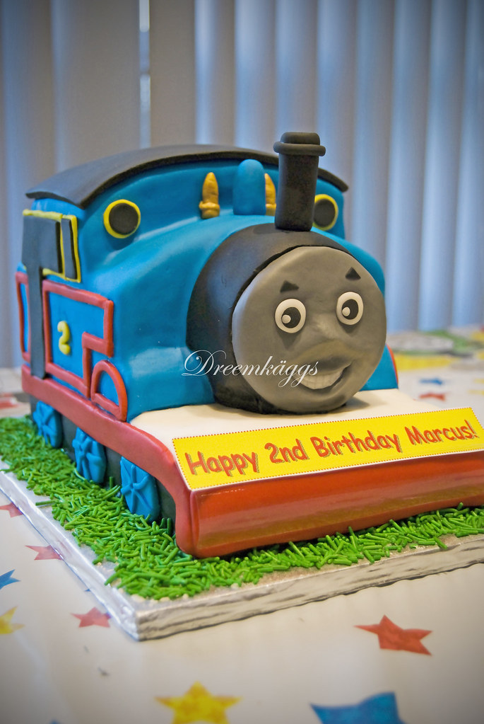 Admirable Marcus Thomas The Train Birthday Cake Picture Courtesy Of Flickr Funny Birthday Cards Online Eattedamsfinfo