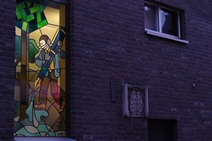 Joost Swarte window in Haarlem