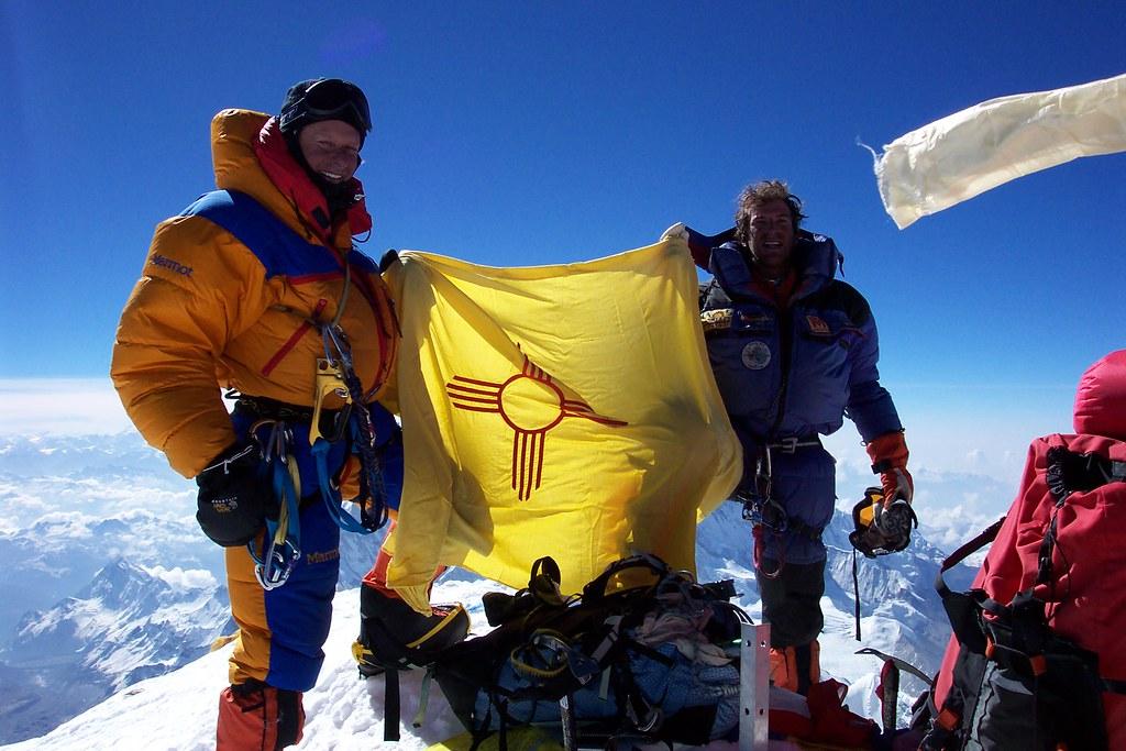 Mt  Everest Summit   Gary Johnson on the summit on Mt  Evere…   Flickr