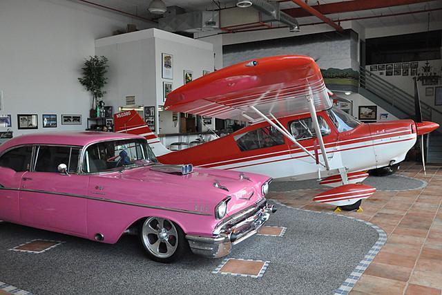 cool hangar
