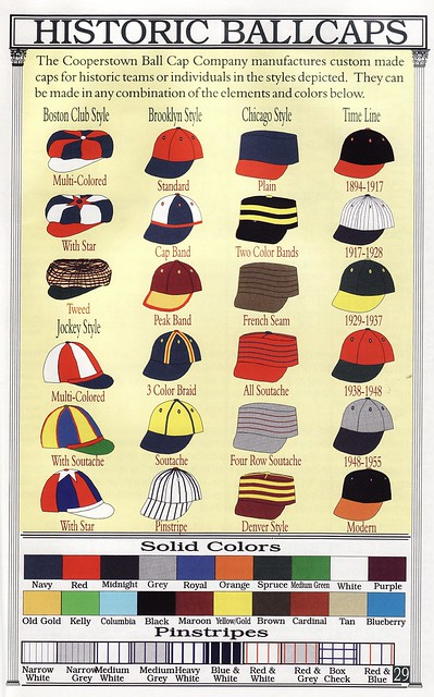 Historic Ballcaps