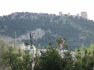 anatomía del parque de la victoria de jaén: vistas del castillo | by olgaberrios