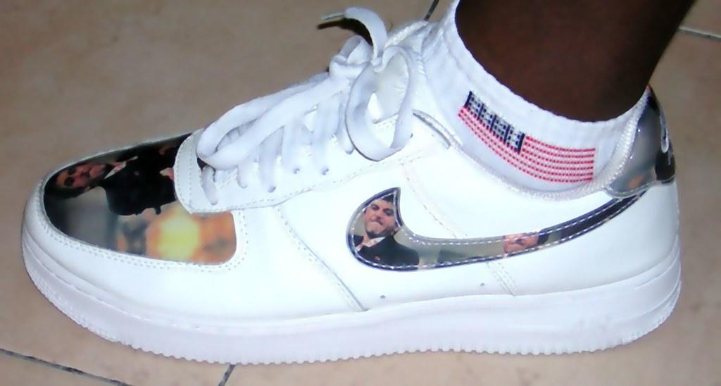 Tony Montana Scarface Nike Air Force One   Nino_Bronx   Flickr