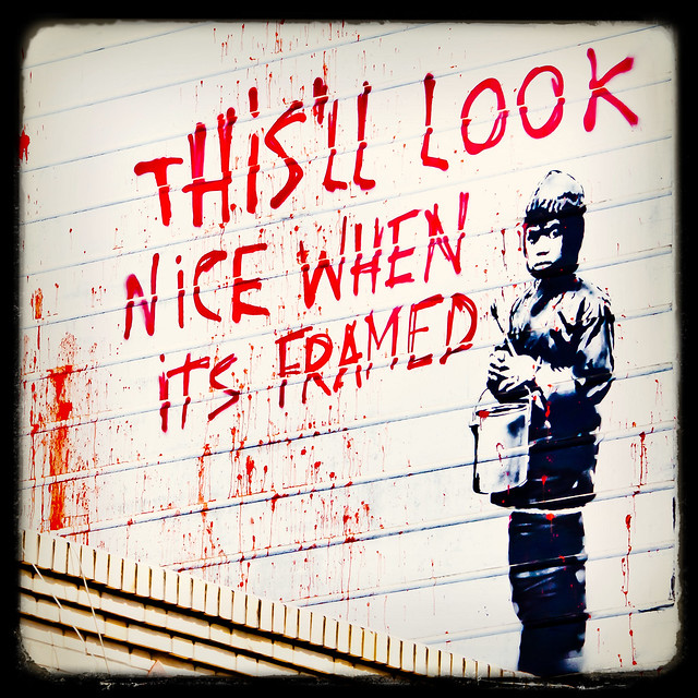 More Banksy in San Francisco