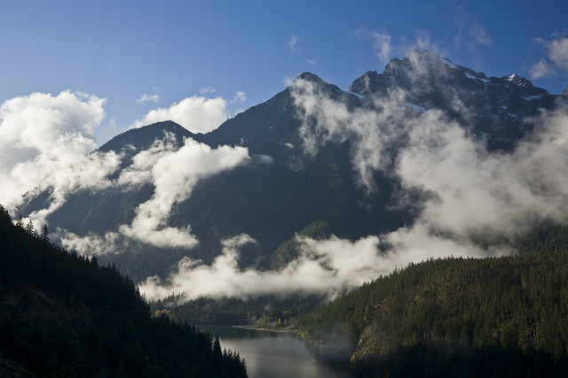 Colonial Peak and Ross Lake, North Cascades