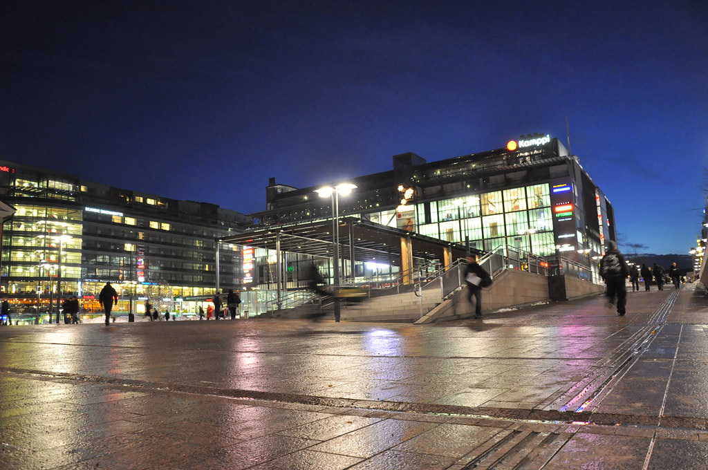 Matkahuolto Helsinki Kamppi