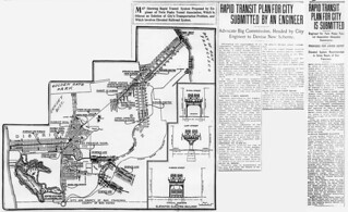 Rapid Transit Plan for City Submitted by an Engineer (San Francisco, 1913)