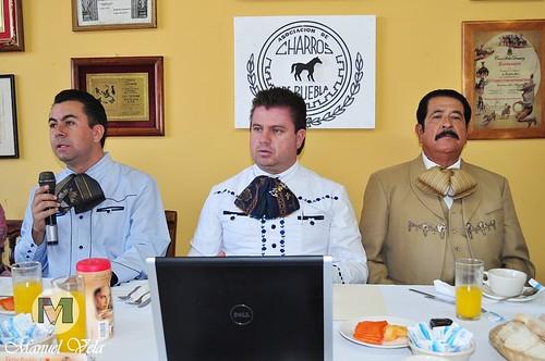 DSC_0069 Conferencia de Prensa Asociación de Charros de Puebla A.C.D invitan al *Rodeo Lienzo Charro* por LAE Manuel Vela