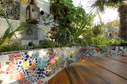 The Mosaic Garden By Earth Designs Www Earthdesigns Co Uk Flickr