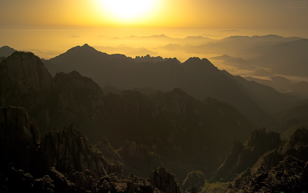 Huang Shan/Yellow Mountain/黄山