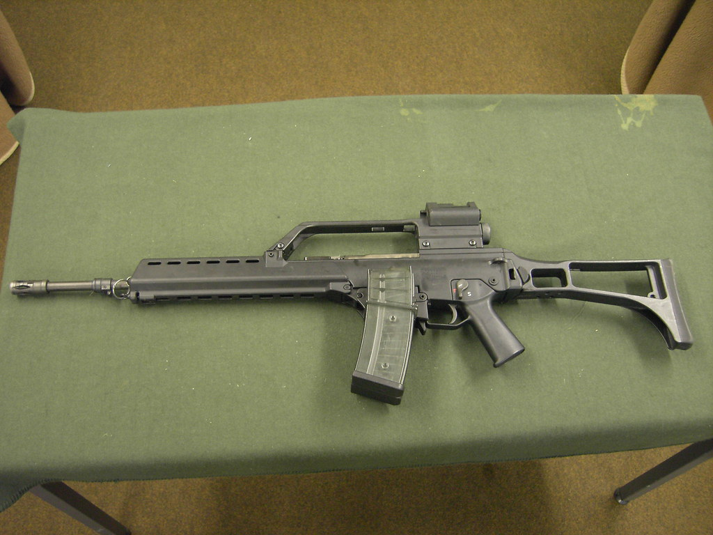 German Heckler & Koch G36 5 56mm assault rifle | H&K G36 ass
