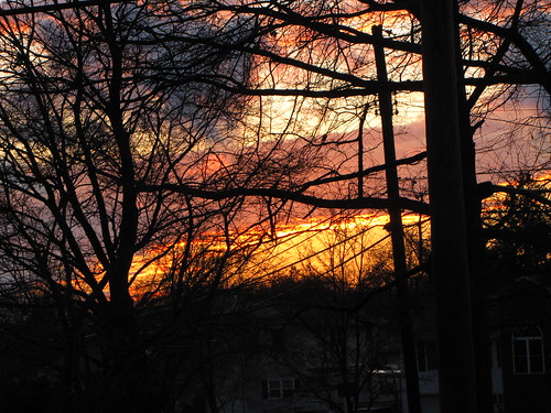winter sunset southjersey smalltowns gibbsboro camdencounty southernnj gibbsboronj