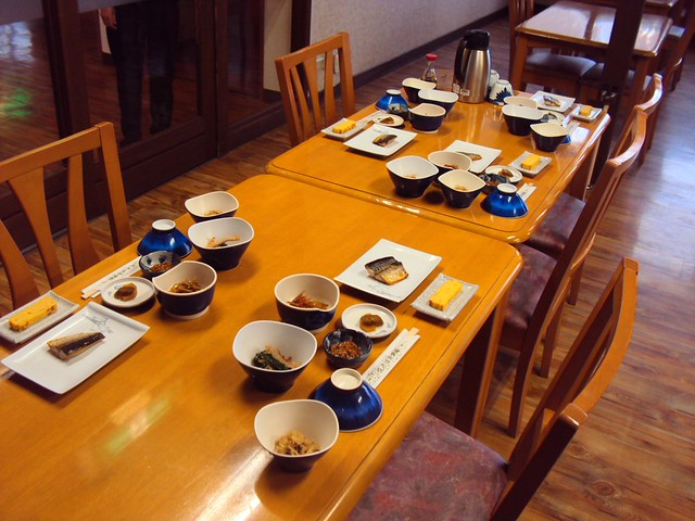 Breakfast time at Goshiki Onsen by bryandkeith on flickr