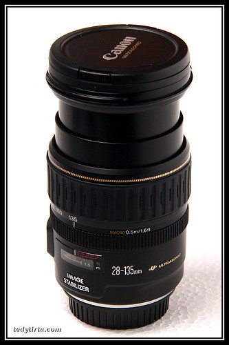 Canon EF 28-135mm f/3.5-5.6 (fully extended) | by tedytirta