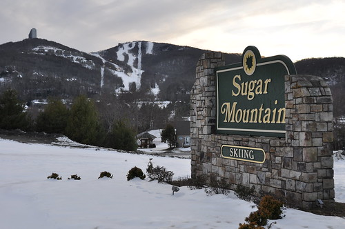 snow sign northcarolina skiresort sugarmountain nikond90