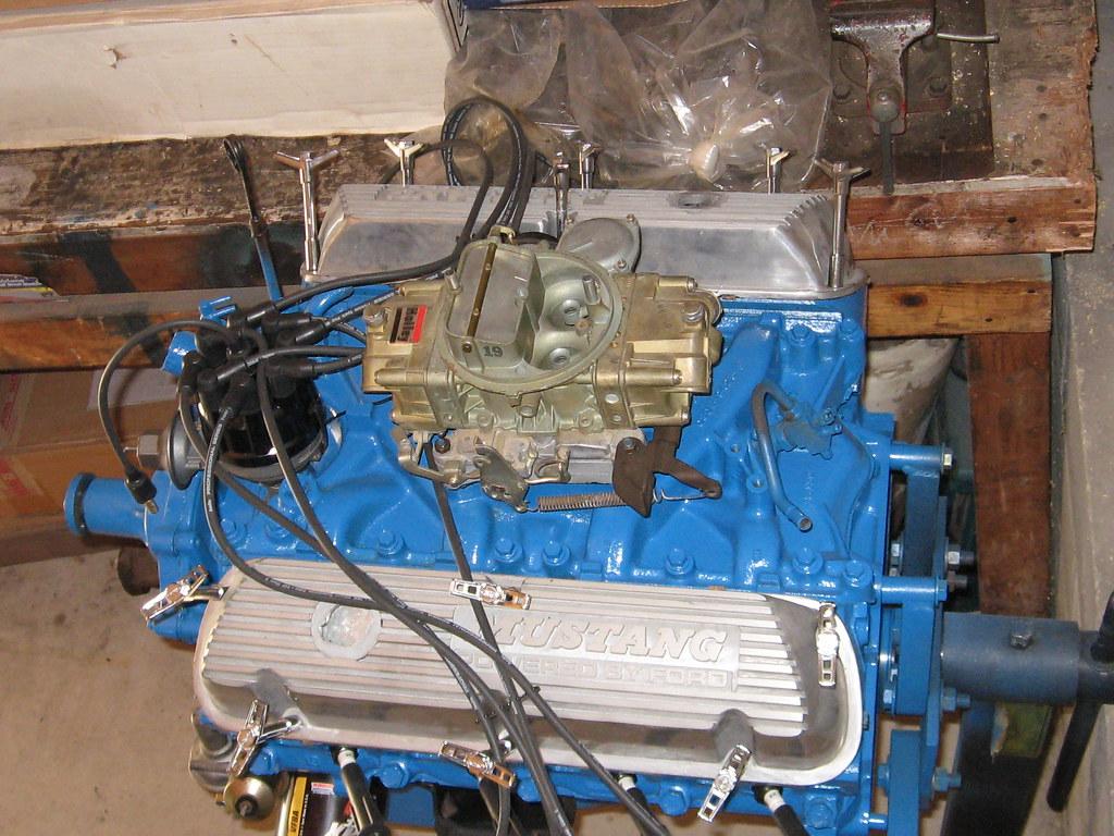 69 Mustang Restoration 1969 Mustang 351 Windsor   351 c i  V