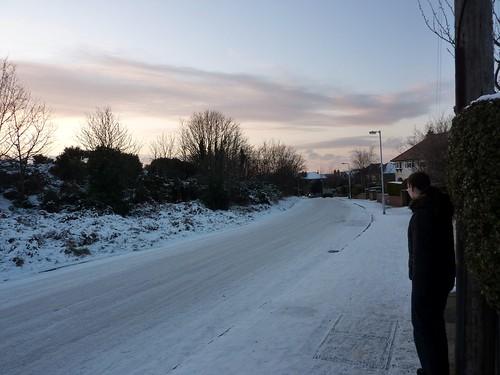 Lang Lane, West Kirby (09/01/2010)