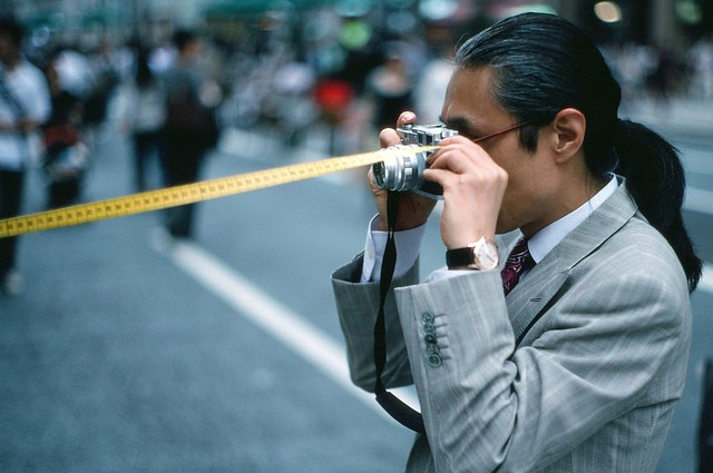 Dapper Gent with Leica M3