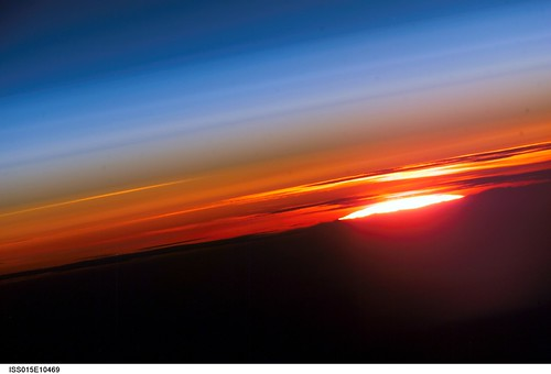 Sunset Over Earth (NASA, International Space Station Science, 06/03/07) | by NASA's Marshall Space Flight Center