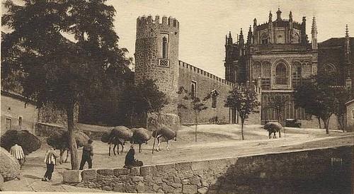 San Juan de los Reyes a inicios del siglo XX.