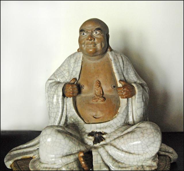 Statue d'un Arhat (Pagode Thien Mu)