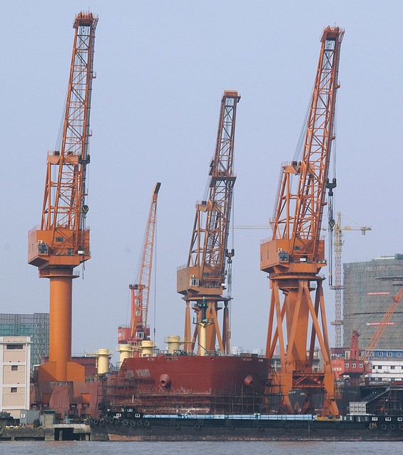 Shanghai - 上海船厂 Shanghai Shipyard