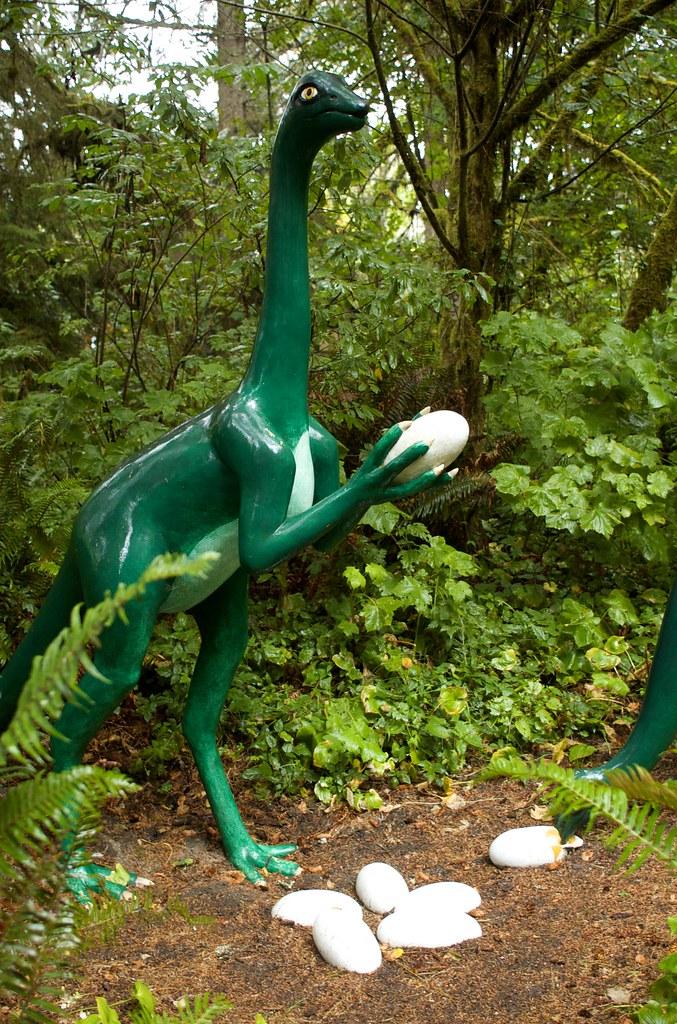 Vacation V- Prehistoric Gardens 19 | STRUTHIOMIMUS ...