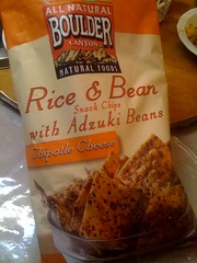 Chipotle Cheddar Rice & Bean Snack Chips with Adzuki Beans | by joeysplanting