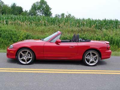Red Miata -- my 2nd convertible