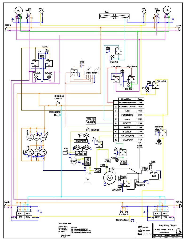 wiring diagram rev10 | by crazyoctopus wiring diagram rev10 | by  crazyoctopus