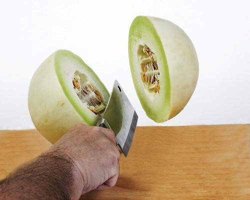 knife honeydew chop melon cleaver greatphotographers strobist cpmg ghholt